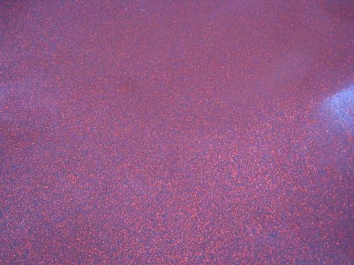 red sparkly vinyl