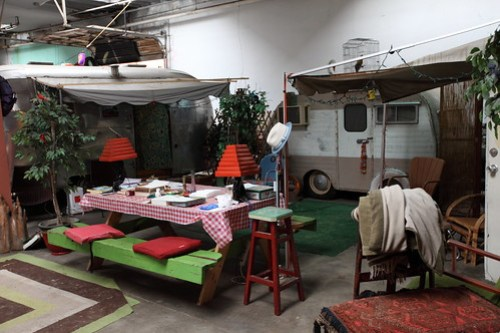 More indoor trailer park