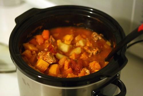 handmade52.5 chicken and sweet potato stew