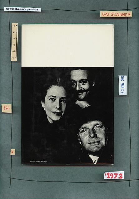 Truman Capote, Trilogia. Garzanti 1972. Quarta di sovracoperta