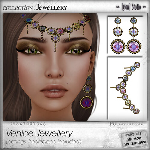 [ glow ] studio Venice Jewellery