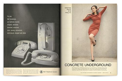 Design Project: LOOK Magazine Spread - pgs. 2 & 3