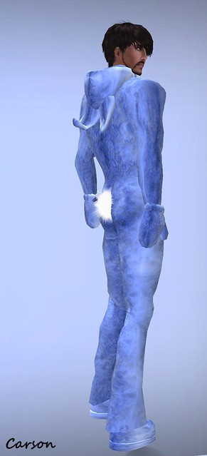 sf design mens bunny costume - blue ($25L)