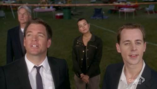 Gibbs, DiNozzo, Ziva and McGee