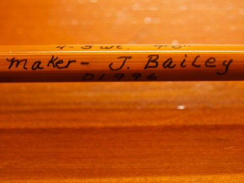 J. Bailey Bamboo Fly Rod