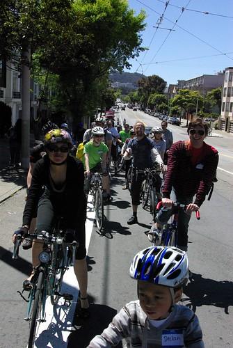 Bike Party Volunteer Ride
