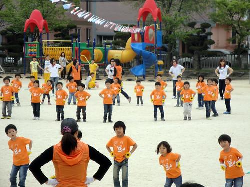 Adorable Kindergarten dance