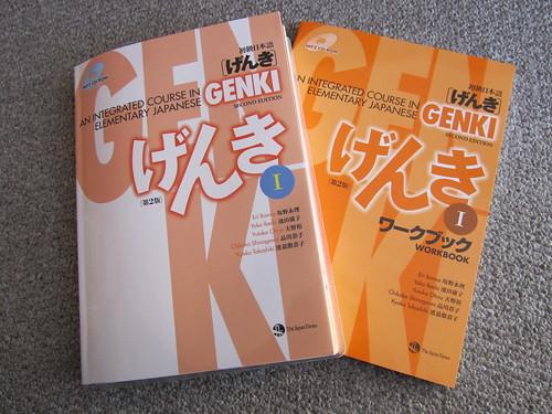 Genki textbooks
