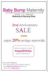 Baby Bump Maternity's 2nd Anniversary Celebration
