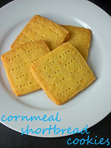 cornmeal shortbread cookies