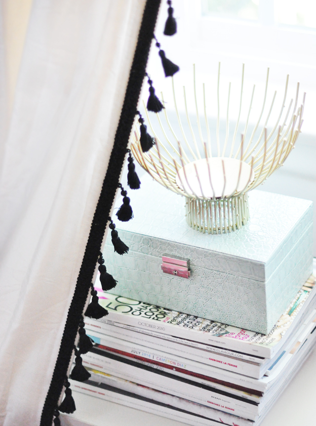 Take Your Curtains From Drab To Fab Amp My Ikea Dressers Makeover Love Maegan