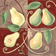 Pear Motifs - Something to Cherish