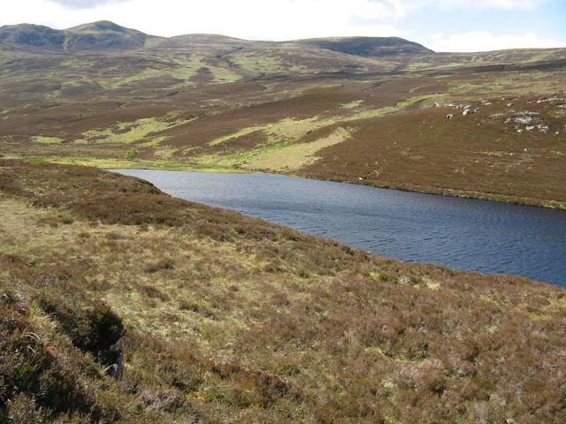 Loch na Beiste, Beinn a' Bha'ach Ard