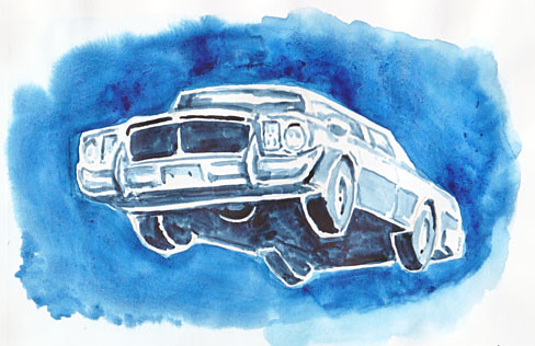 leaping-car
