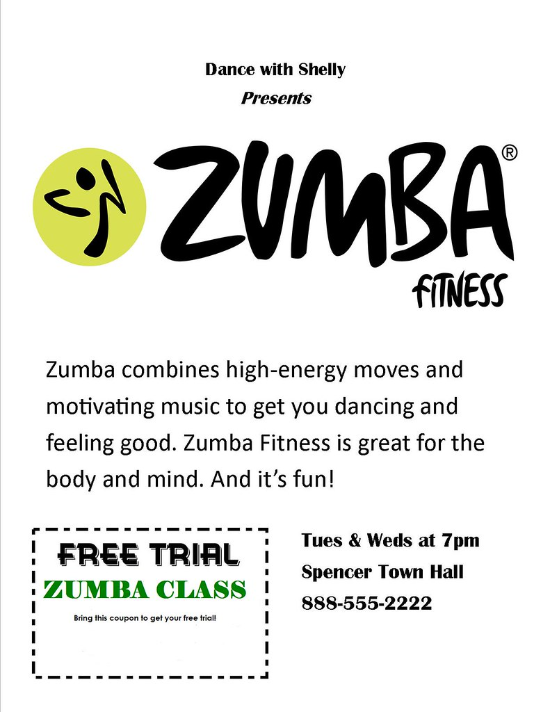 Sample Proposal Letter For Zumba