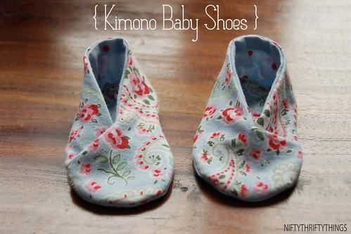 {kimono baby shoes}