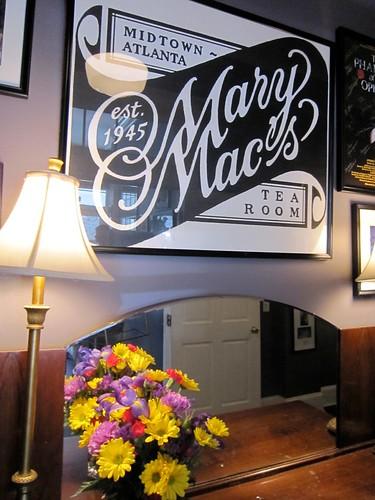 Mary Mac's Tea Room Midtown Atlanta 1945