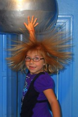 Static Electricity Ball at the St. Louis Magic...