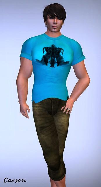 22769 - Rorschach Tee and Capri Pants  GG