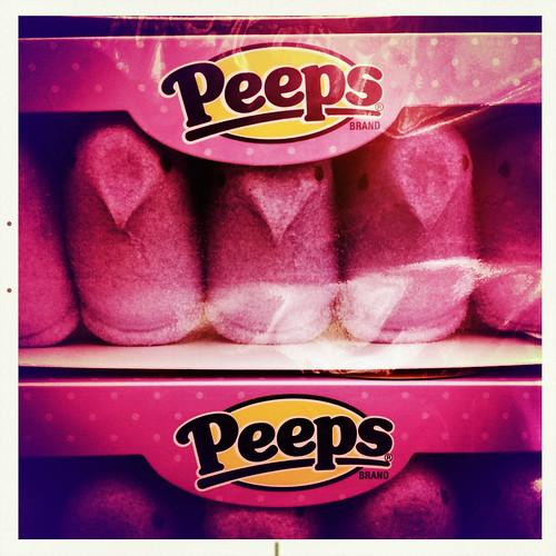 Hanging with the Peeps
