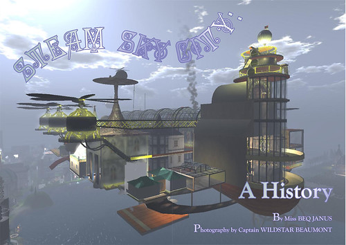 The Primgraph: Issue 16 - A History of Steam Sky City