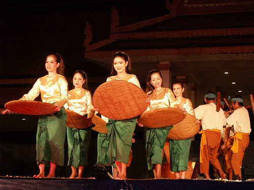 Rice harvest dance