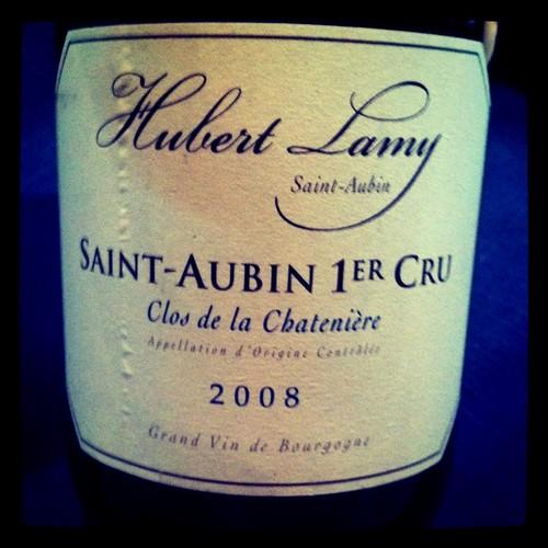 Hubert Lamy St. Aubin Clos de la Chateniere 2008