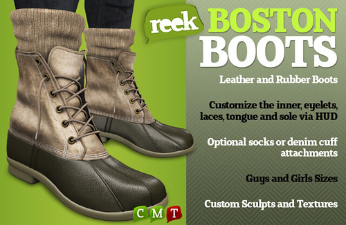 Reek - Boston Boot Ad
