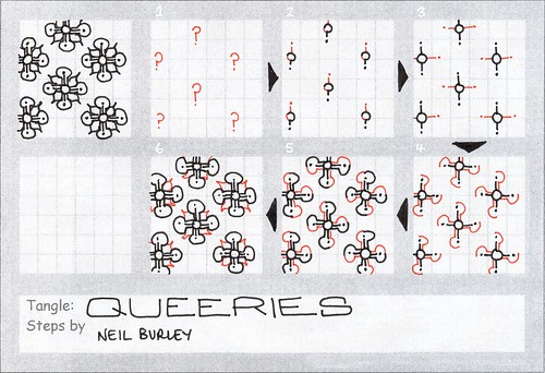 Queeries - tangle pattern by perfectly4med