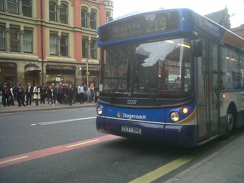MAN bus on the 219 route