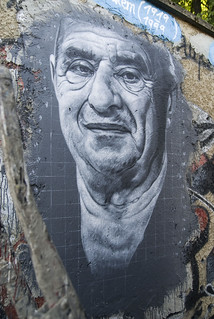 Der Kaiser Paul Bocuse painted portrait DDC_4298