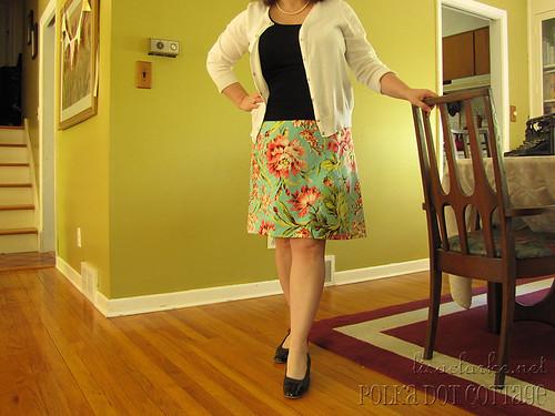 New wrap skirt