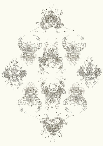 Summer Doodle Pattern