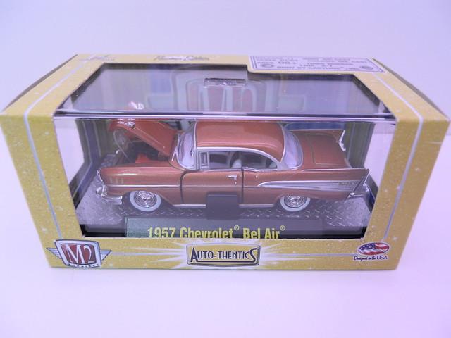 m2 autothentics 1957 chevy bel air rust