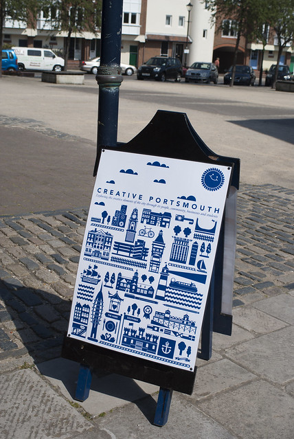 Creative Portsmouth Poster