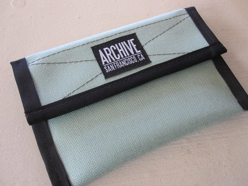Mint Green belt pack by Archive Victor