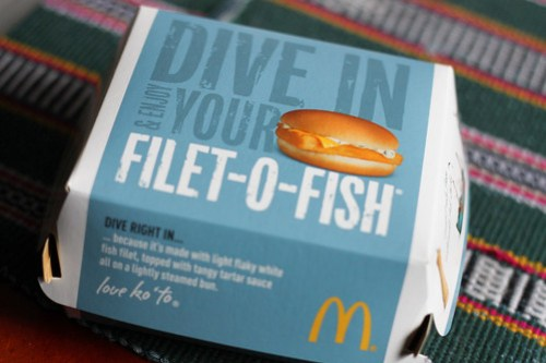 Filet-O-Fish packaging