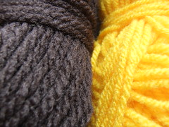 Yarn for Dwarf Sunspot Sunflower