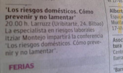 ITZIAR MONTEJO en Larruzz Cafes Coloquio PREVENCION by LaVisitaComunicacion
