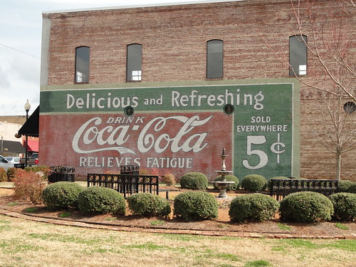 Old Coca-Cola Sign, New Albany MS