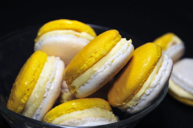 Pierre Herme's Macaron Satine