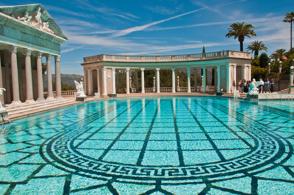 The Neptune Pool at Hearst Castle