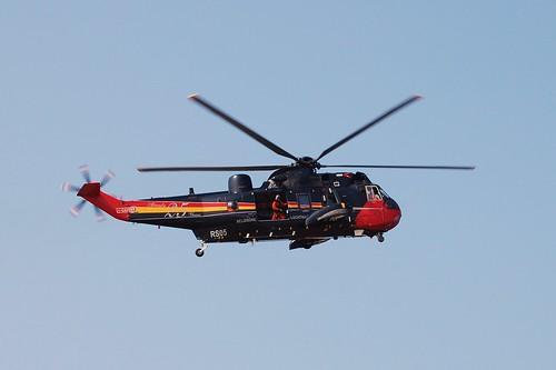(nieuwpoort) helikopter