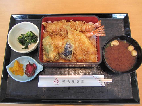Lunch at Meiji Jingu