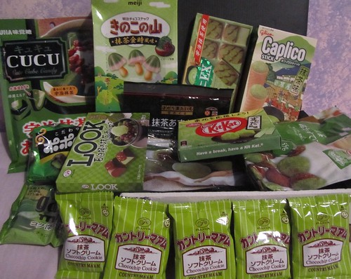 Green tea goodies from Japan!