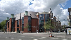 Swindon Library & Clouds