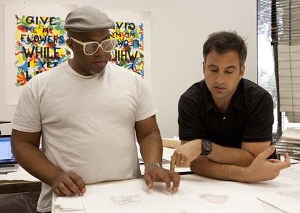 Trenton Doyle Hancock and David Norr Discuss Work at Graphicstudio
