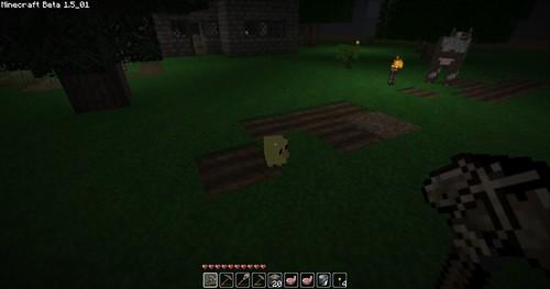 Minecraft - Aww, a chick!