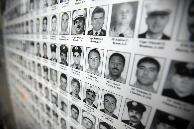 Victims of 9/11 on Poster