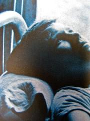 """Arthur Dreyfus, La chimica dell'incontro, Salani 2011; Progetto grafico: Elisa Zampaglione, """"In copertina: foto di Arthur Tress; copertina (part.), 2"""
